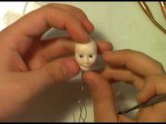 Beginner Sculptor- the Female Face- Part 4