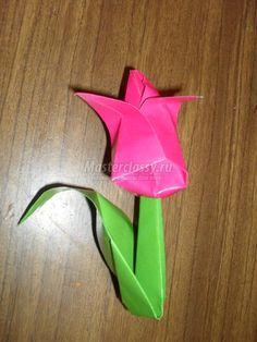 Оригами инструкция птичка