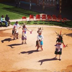 2013 Indian Heritage Week at the Indian Pueblo Cultural Center in Albuquerque, New Mexico. Zuni Dancers. (www.AIANTA.org)