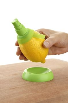 Juice straight from the lemon? In a spray? Yes please!