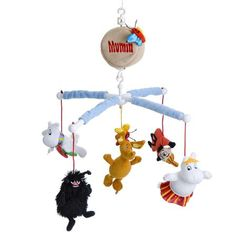 Moomin 5 Characters Musical Mobile