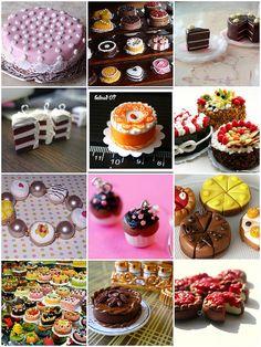 tiny cakes