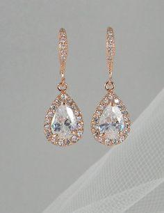gold weddings, wedding jewelry, crystal earrings, crystal wedding, swarovski crystals