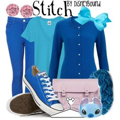 """Stitch"" by lalakay on Polyvore #disney"