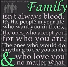 True meaning of FAMILY.