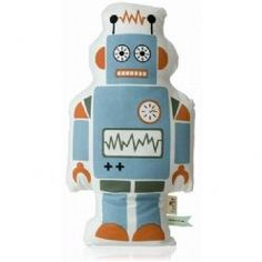 ferm LIVING Robot Cushion Large : Gifts and Accessories from Scandinavia