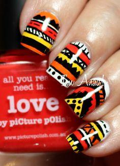 I'm A Nail Art Addict! #nail #nails #nailart
