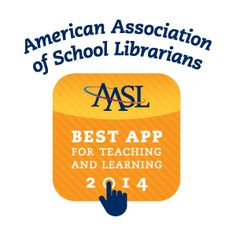 Shadow Puppet is one of American Association of School Librarian's Best Apps for Teaching and Learning! #aasl #bestapp #ipaded #edtech