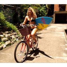 bike and beach AWESOME
