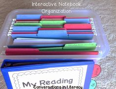 Interactive Notebook Organization and Management Tips!  How to organize and manage copies for future use