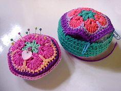African flower pincushions