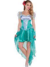 Adult Little Mermaid Ariel Costume, $49.99
