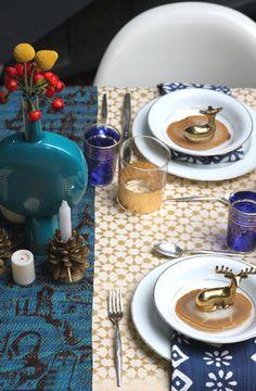 winter wonderland, beauti tabl, tabl arrag, white gold, holiday tables