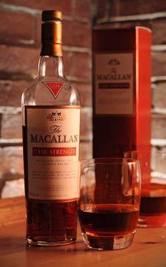 """The Macallan """"Cask Strength"""" Highland Single Malt Scotch"""