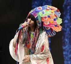 neon tribe, neon headdress