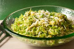 sprout salad, salad recipes, olive oils, fall recipes, shave brussel