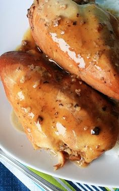 {Crockpot} Cola Chicken - the sauce from this chicken is amazing!