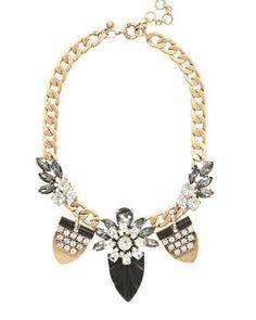 REVEL: Jeweled Pennant Necklace