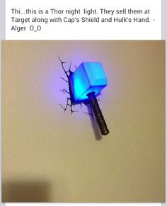 3d Wall Lights Target : 3DlightFX 3D Superhero Deco Lights on Pinterest Night Lights, Thors?