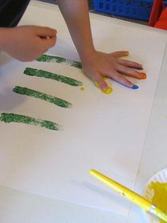 Handprint flowers!