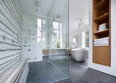 plastolux - modern housing - dma architects - lawren harris house renovation - toronto - canada - bathroom