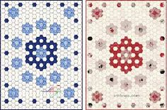quilt hexagon - Google Search