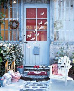 Des oiseaux de Noël en carton // birds, christmas, paper, cardboard, diy
