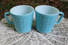 RARE Pyrex Vintage1950s Turquoise or Blue by EleanorMeriwether, $42.00