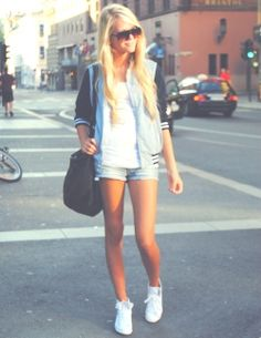 #sporty #chic #blue