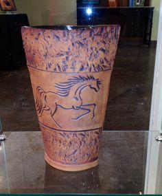 Handbuilt Vase by Linda Neubauer