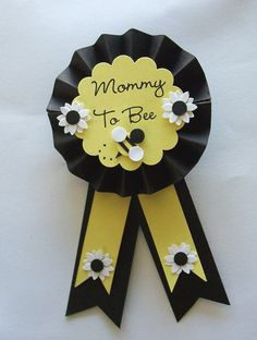 Mommy to Bee pin :-) bee theme? cute for a girl or boy