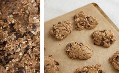 My Perfect Whole Grain Chocolate Chip Cookies, to make even healthier replace sugar with honey or agave syrup.