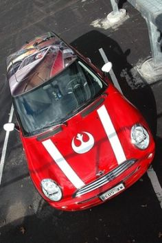 Star Wars Mini Check out all of the cool Star Wars cars in this page. The Darth Maul truck is really amazing.