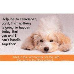 one of my favorite prayers.