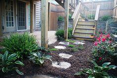 Backyard and Townhouse landscaping, garden design