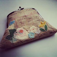 hen teeth, bag, clutch, appliques, coin purses, hens, bohemian style, appliqu purs, wallet