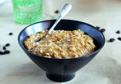 Frappuccino oatmeal... Could use coffee instead of water in my instant oatmeal... NB