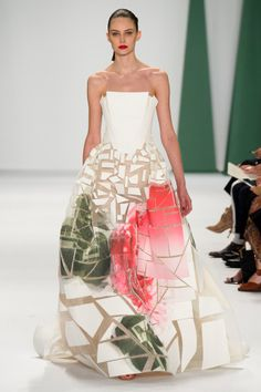The 50 Best Bridal Looks from the Spring 2015 Collections – Vogue - Carolina Herrera