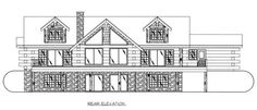 Log Home Plan 126
