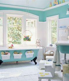 decoracion cuarto de baño para niños