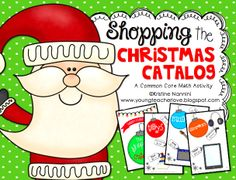 So cool! Students shop a printable Christmas Catalog to practice decimals, budgets, and more! A great way to keep math fun during the crazy holiday season! My kids will love it! $