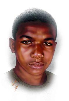 Art Paying Tribute To Trayvon Martin