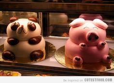 panda cake, piggi cake, cakes, bake, food, pigs, cake decor, pig cake, pandas