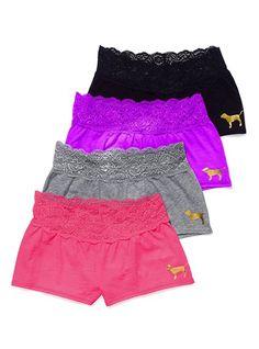 loung short, pink summer, victoria secrets, victoria secret pink, dream, lounges, lace waist, lace shorts, pink loung