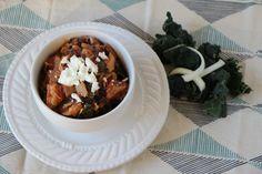 Creamy Crockpot Chicken with Kale