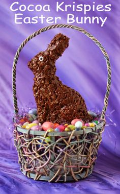 Hungry Happenings: Cocoa Krispies Easter Bunny Treats