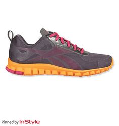 """Katie Couric's Shoe Picks — Reebox RealFlex Transition sneakers: """"My go-to workout shoe, and you can get them in these great, bright colors!"""""""