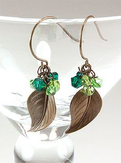 jewelry,jewelry making,fashion jewelry,jewelry 2013,jewelry making ideas #jewelry #making #ideas Jewelry Making Tutorial--Handcrafted Wire Wrapped Earrings with Jade Beads