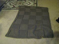 Super Chunky Blanket free knitting pattern