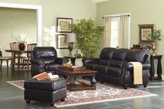 Laredo Top Grain Leather Sofa